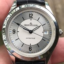 Jaeger-LeCoultre Master Control Date Stal 39mm Srebrny