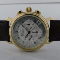 Zenith El Primero Chronograph Oro amarillo 36,5mm Plata Romanos