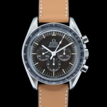 Omega Speedmaster Professional Moonwatch occasion 42mm Brun Chronographe Acier