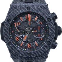 Hublot Big Bang Unico tweedehands 45mm Zwart Chronograaf Datum Rubber