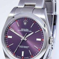 Rolex Oyster Perpetual 39 Ατσάλι 39mm Κόκκινο