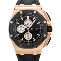 Audemars Piguet 26401.RO.OO.A002CA.01 Or rose 2014 Royal Oak Offshore Chronograph 44mm occasion