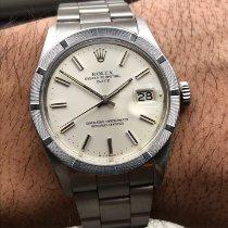 Rolex Oyster Perpetual Date Staal 34mm Zilver Geen cijfers Nederland, Naarden