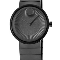Movado Edge Staal 40mm Zwart
