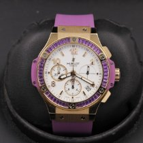 Hublot Big Bang Tutti Frutti Rose gold 41mm White