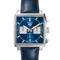 TAG Heuer Monaco Steel 39mm Blue No numerals United States of America, North Carolina, Stanley