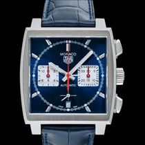 TAG Heuer Monaco new 2020 Automatic Chronograph Watch with original box and original papers CBL2111.FC6453