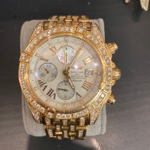 Breitling Yellow gold 42mm Mother of pearl No numerals