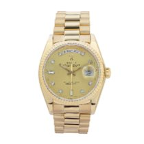 Rolex 18038 Yellow gold 1981 Day-Date 36 36mm pre-owned United States of America, Georgia, ATLANTA