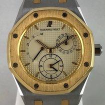 Audemars Piguet Royal Oak Dual Time Золото/Cталь 37mm Цвета шампань