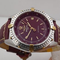 Breitling Antares Steel 39mm Bordeaux Arabic numerals