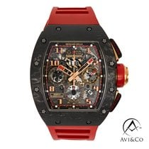 Richard Mille RM 011 RM011 Very good Carbon 42mm Automatic