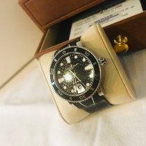 Ulysse Nardin Lady Diver подержанные 40mm Черный Дата Каучук