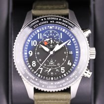IWC Pilot Chronograph Steel Black Arabic numerals United States of America, New York, New York
