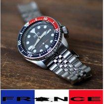 Seiko Prospex Acier Bleu Sans chiffres France, Lyon, No duties and taxes to pay