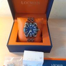 Locman Stealth Titanium 46mm Blue No numerals