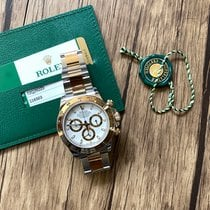 Rolex Daytona Gold/Steel 40mm White No numerals United States of America, California, Sunnyvale