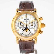 Patek Philippe Perpetual Calendar Chronograph 5004J Very good Yellow gold 37MMmm Manual winding