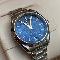 Omega Seamaster Aqua Terra Steel 34mm Blue No numerals