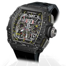 Richard Mille RM 011 Carbono 49mm Transparente Arábigos