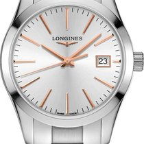 Longines Conquest Classic Steel 34mm Silver United States of America, California, Moorpark