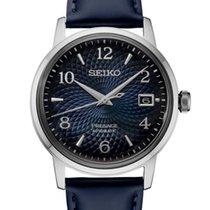 Seiko Presage Steel 38.5mm Blue Arabic numerals United States of America, New York, Bellmore