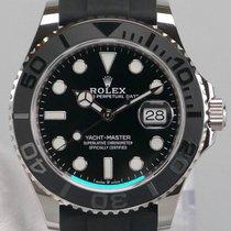 Rolex Yacht-Master 42 White gold 42mm Black No numerals