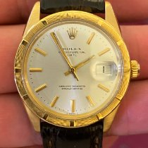 Rolex Oyster Perpetual Date 1501 Mycket bra Gulguld 34mm Automatisk