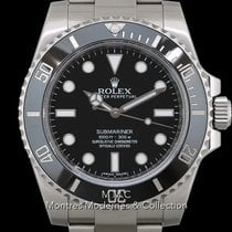 Rolex Submariner (No Date) Acier 40mm Noir France, Paris