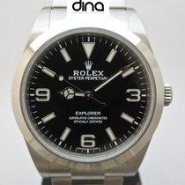 Rolex Explorer Otel 39mm Negru Arabic