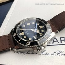 Eberhard & Co. Scafograf 300 Steel 43mm Black No numerals
