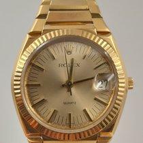 Rolex 5100 Very good Yellow gold 38mm Quartz