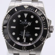 Rolex Submariner (No Date) Acero 40mm Negro
