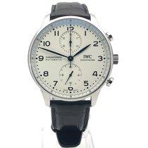 IWC Portugieser Chronograph Stahl 41mm Silber Arabisch Deutschland, Bietigheim-Bissingen