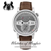 A. Lange & Söhne Zeitwerk 148.038 New White gold 44.20mm Manual winding United Kingdom, London