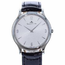 Jaeger-LeCoultre Master Ultra Thin pre-owned 34mm Silver Leather
