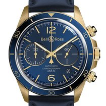Bell & Ross BR V2 Bronze 41mm Blue Arabic numerals