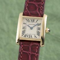 Cartier Tank Française Gult guld 18.5mm