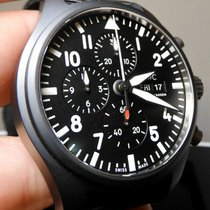 IWC Pilot Chronograph Top Gun Cerámica 44.5mm Negro
