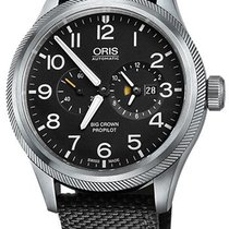 Oris Big Crown ProPilot Worldtimer 01 690 7735 4164-07 5 22 15FC 2020 new