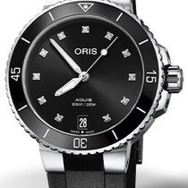 Oris Aquis Date Steel 36.5mm Black