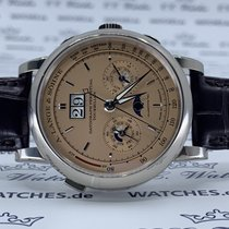 A. Lange & Söhne Datograph Or blanc 41.5mm