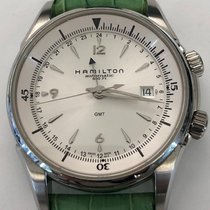 Hamilton Jazzmaster Traveler Steel 42mm White United States of America, New York, New York