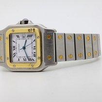 Cartier Santos Galbée 2961 Muito bom Ouro/Aço 29mm Automático