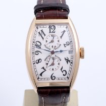 Franck Muller pre-owned Automatic 32mm Silver Sapphire crystal 3 ATM