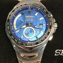 Seiko Coutura Steel 44.5mm Blue No numerals United States of America, Massachusetts, Boston