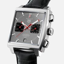 TAG Heuer Monaco Calibre 12 new 2020 Automatic Chronograph Watch with original box and original papers CAW211J.FC6476