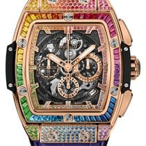 Hublot Spirit of Big Bang Rose gold 42mm Transparent United States of America, Florida, Sunny Isles Beach