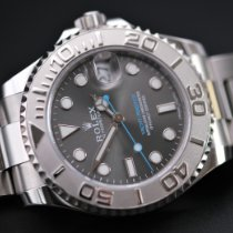 Rolex Yacht-Master 37 Steel 37mm Grey No numerals United Kingdom, Whitby- North Yorkshire