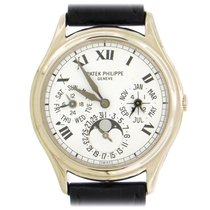Patek Philippe Perpetual Calendar White gold 36mm Silver United States of America, New York, New York